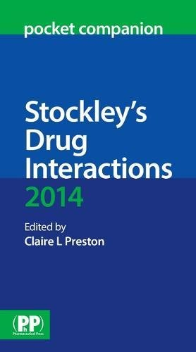 9780857111425: Stockley's Drug Interactions Pocket Companion 2014 2014