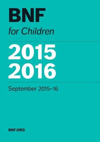 9780857111647: BNF for Children (BNFC) 2015-2016 2015-2016