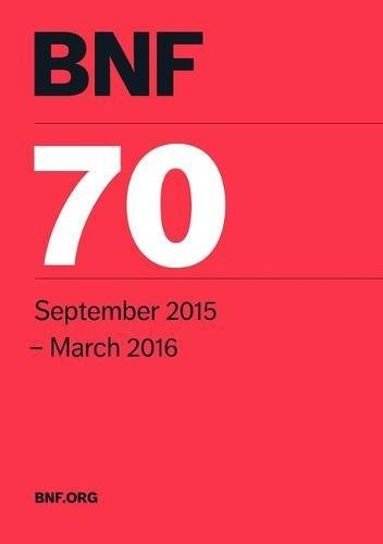 9780857111739: BNF 70 (British National Formulary September 2015-March 2016)