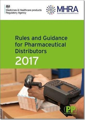 9780857112866: Rules and Guidance for Pharmaceutical Distributors (Green Guide) 2017