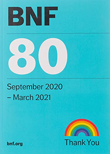 9780857113696: BNF 80 (British National Formulary) September 2020