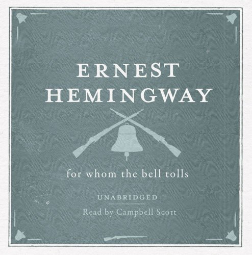 9780857204547: For Whom the Bell Tolls Unabridged Audio CD