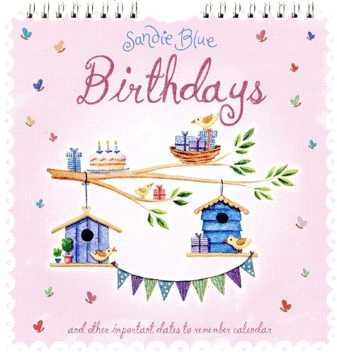 9780857226341: Sandie Blue Birthday 2013: Midi