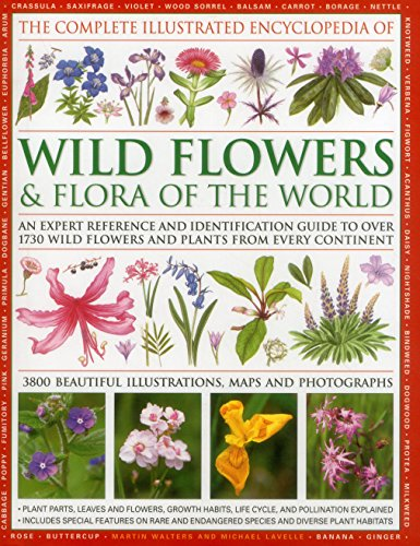 9780857233592: The Complete Illustrated Encyclopedia of Wild Flowers and Flora of the World: An Expert Reference And Identification Guide To Over 1730 Wild Flowers Beautiful Watercolours, Maps And Photographs