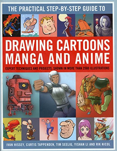 9780857237859: The Practical Step By Step Guide to Drawing Cartoons Manga and Anime