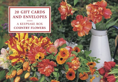 9780857239747: Tin Box of 20 Gift Cards and Envelopes: Country Flowers: A fabulous collection of floral notecards and decorative envelopes