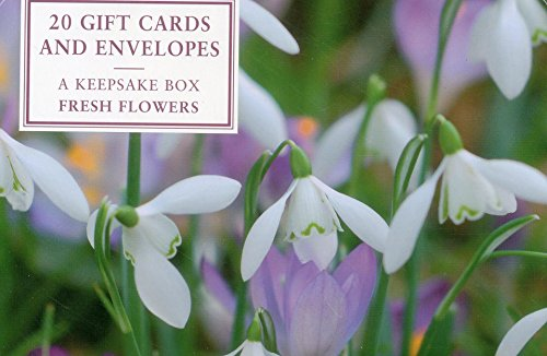 9780857239877: Tin Box of 20 Gift Cards and Envelopes: Fresh Flowers: A Fabulous Collection of Flower Notecards and Envelopes (Gift Cards in a Keepsake Tin)