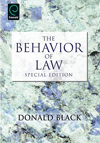 9780857243416: The Behavior of Law, Special Edition