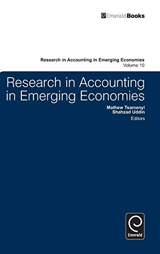 9780857244512: Research in Accounting in Emerging Economies: Vol. 10