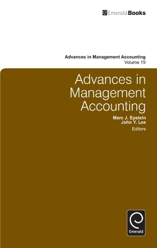 9780857248176: Advances in Management Accounting