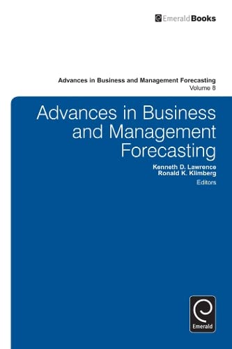 Advances in business and management forecasting. (Advances: Ed. by Kenneth