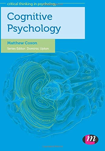 9780857255228: Cognitive Psychology (Critical Thinking in Psychology Series)