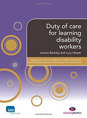 Duty of care for learning disability workers: Barksby, J.