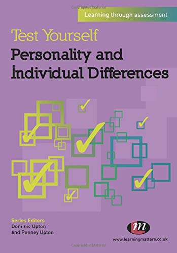 9780857256614: Test Yourself: Personality and Individual Differences: Learning through assessment (Test Yourself Psychology Series)