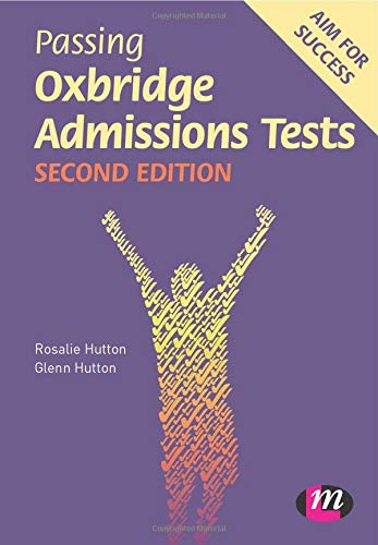 9780857257970: Passing Oxbridge Admissions Tests