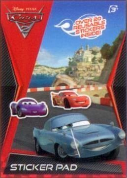 9780857260901: Disney Pixar Cars 2: attività pad adesivo