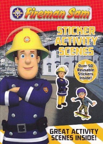 9780857262998: Fireman Sam: Sticker Activity Scenes