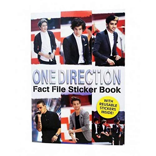 9780857263827: One Direction: Fact File Sticker Book