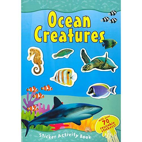 9780857264558: CREATURES Sticker livre d'activités Océan A4