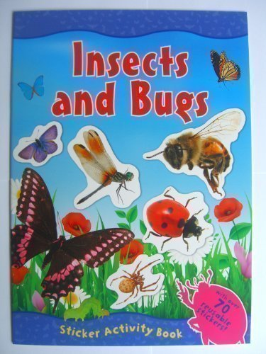 9780857264565: Insects & Bugs Sticker Activity Book (With Over 70 Reusable Stickers) Animal World