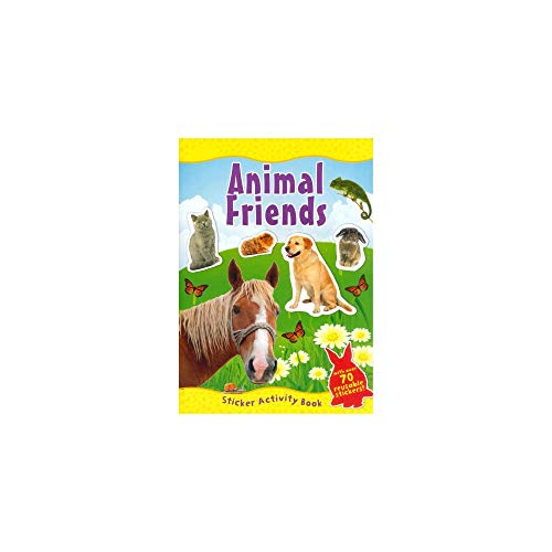 9780857264572: Animal Friends Sticker Activity Book (With Over 70 Reusable Stickers) Animal World