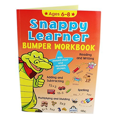 9780857266149: Snappy Learner Bumper Workbook - Ages 6-8