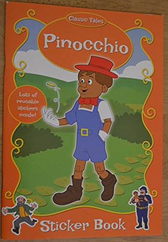 9780857266323: PINOCHIO- CARTE DE COLORAT CU STICKERE