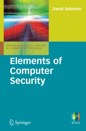9780857290052: Elements of Computer Security (Undergraduate Topics in Computer Science)