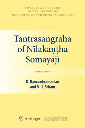 Tantrasangraha of Nilakantha Somayaji.: Ramasubramanian, K.; Sriram,