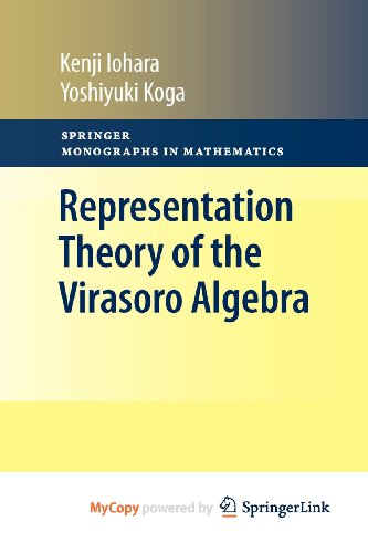 9780857291615: Representation Theory of the Virasoro Algebra