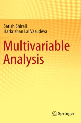 9780857291912: Multivariable Analysis