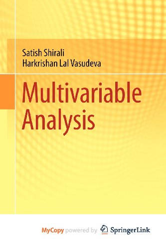 9780857291936: Multivariable Analysis