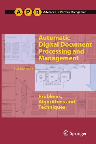 9780857291974: Automatic Digital Document Processing and Management: Problems, Algorithms and Techniques