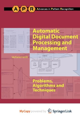 9780857291998: Automatic Digital Document Processing and Management