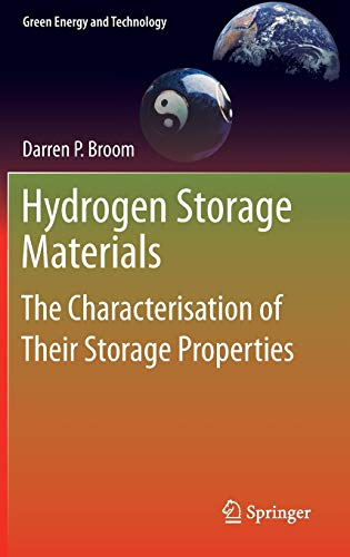 9780857292209: Hydrogen Storage Materials: The Characterisation of Their Storage Properties (Green Energy and Technology)