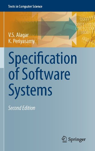 9780857292766: Specification of Software Systems