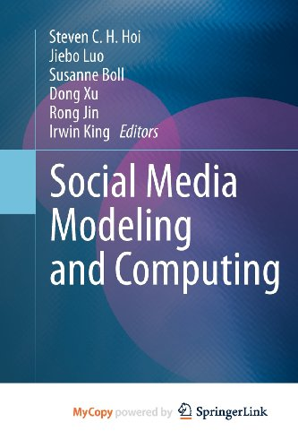 9780857294371: Social Media Modeling and Computing