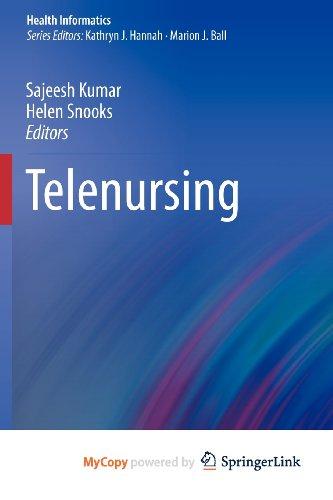 9780857295309: Telenursing