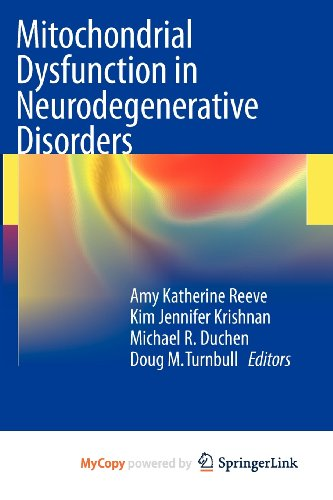 9780857297020: Mitochondrial Dysfunction in Neurodegenerative Disorders