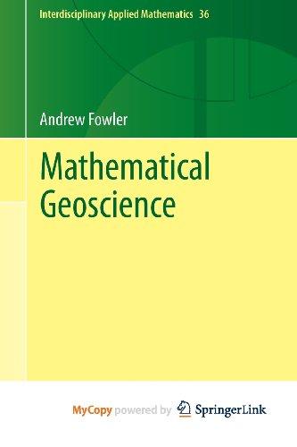 9780857297228: Mathematical Geoscience