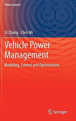 9780857297358: Vehicle Power Management: Modeling, Control and Optimization (Power Systems)