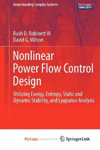 9780857298249: Nonlinear Power Flow Control Design