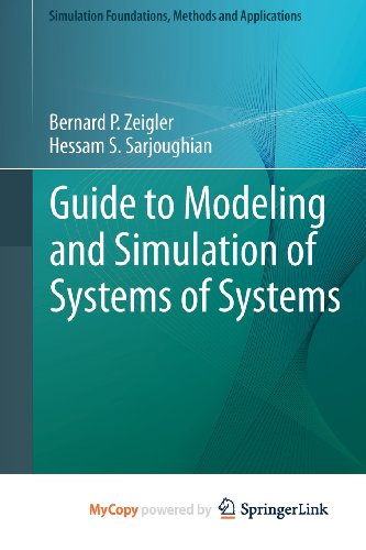 9780857298669: Guide to Modeling and Simulation of Systems of Systems