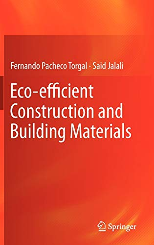 9780857298911: Eco-Efficient Construction and Building Materials