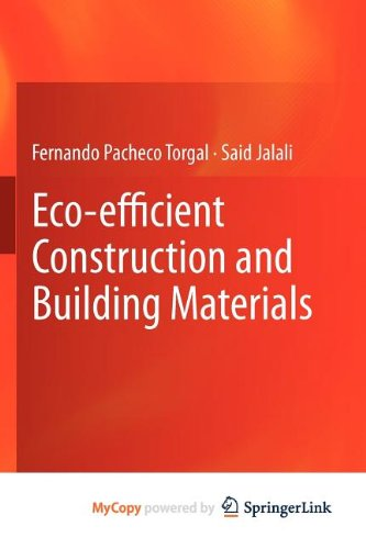 9780857298935: Eco-efficient Construction and Building Materials
