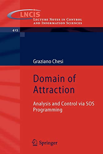 9780857299581: Domain of Attraction: Analysis and Control via SOS Programming (Lecture Notes in Control and Information Sciences)