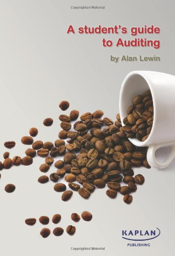 9780857322036: A Student's Guide to Auditing