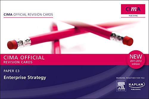 9780857324764: E3 Enterprise Strategy - Revision Cards (Cima Revision Cards)