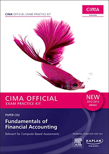 9780857325594: C02 Fundamentals of Financial Accounting - CIMA Exam Practice Kit: Paper C02