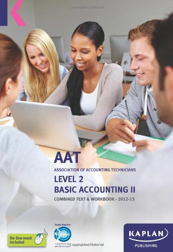 9780857325914: Basic Accounting - Combined Text and Workbook: Volume II